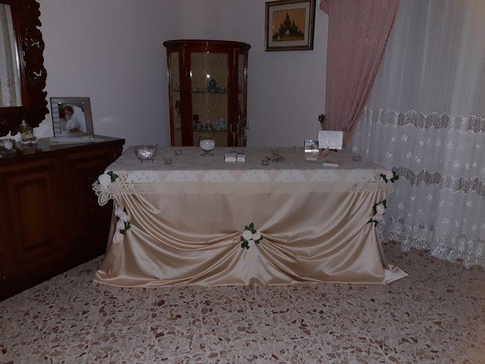 Tavolo sposa 1
