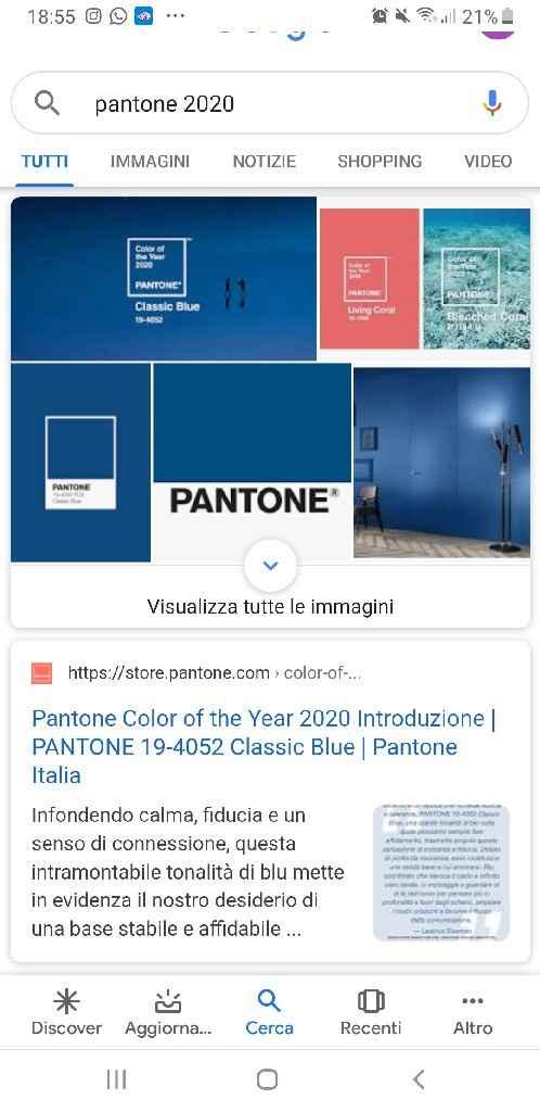 Colori Pantone 2020 - 1