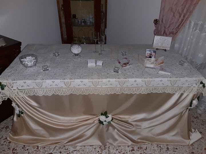 Tavolo sposa - 2