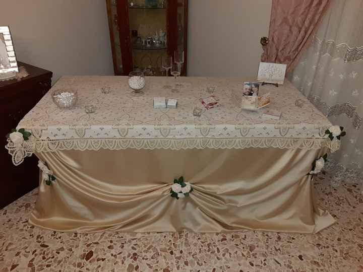 Tavolo sposa - 4