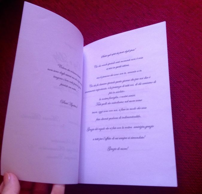 Matrimonio Simbolico Libretto : Libretto cerimonia simbolica pronto fai da te forum
