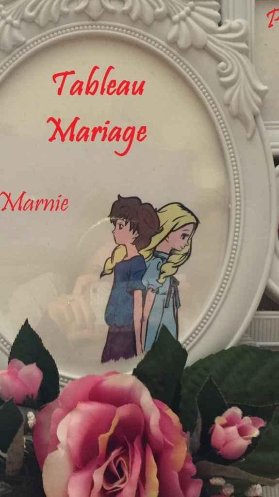Tableau mariage studio ghibli :) - 1