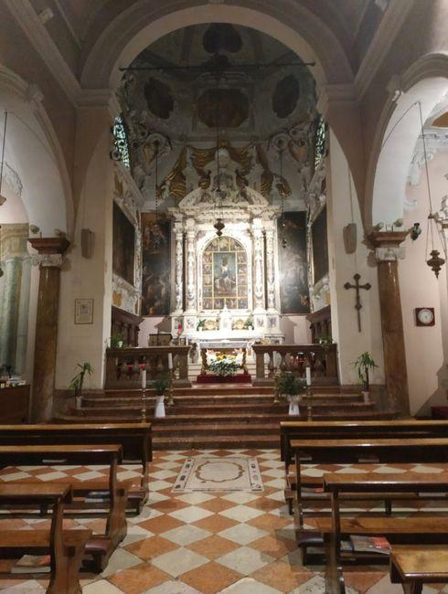 Addobbi floreali Chiesa - 2