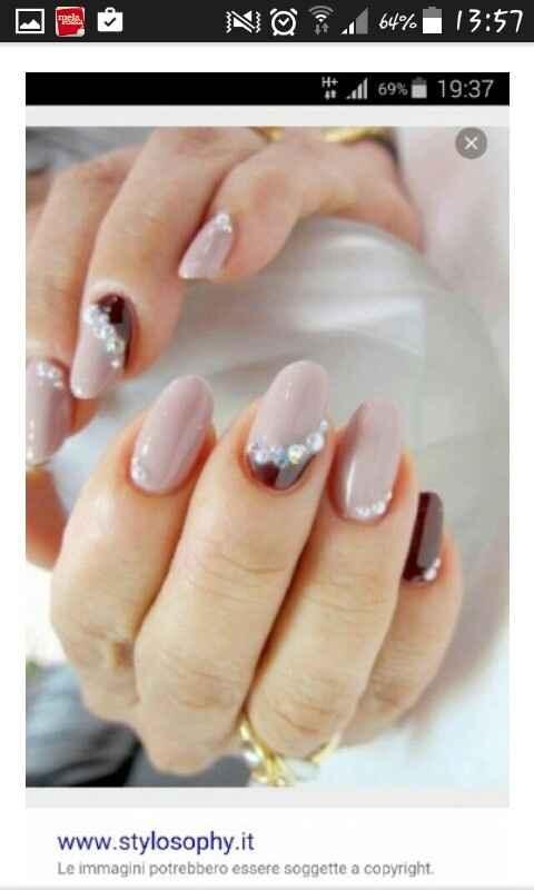 Sposine e non, vi piacciono queste unghie? - 1