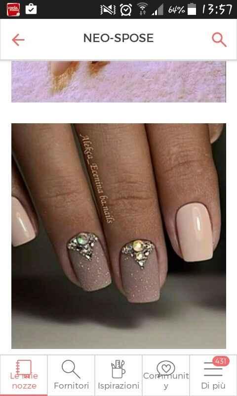Sposine e non, vi piacciono queste unghie? - 2