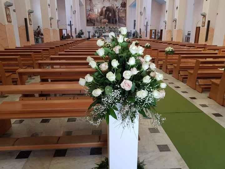 Matrimonio tema Bianco e Rosa Cipria - 1