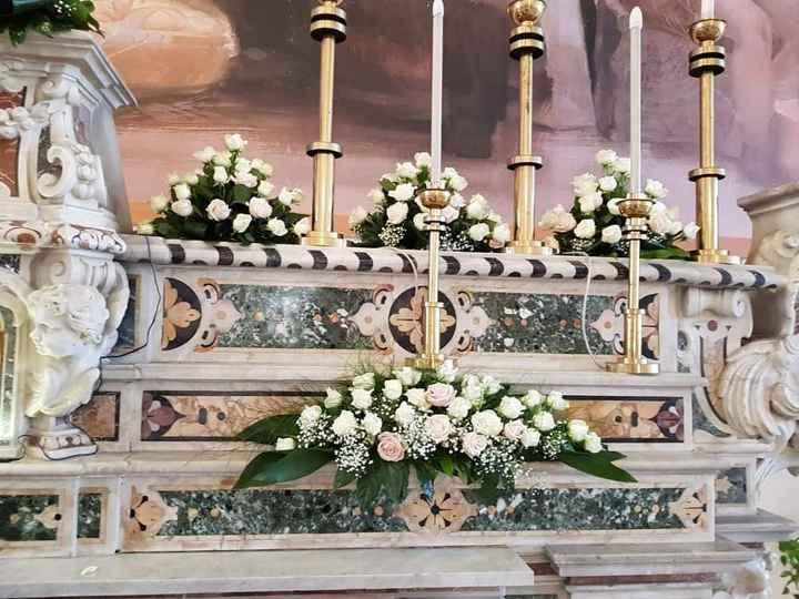 Matrimonio tema Bianco e Rosa Cipria - 2