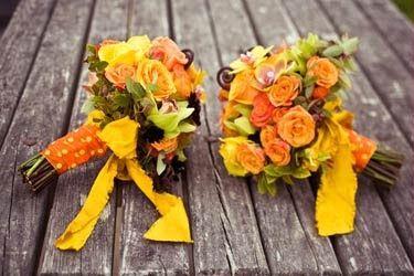 Decorazioni Matrimonio Arancione : Matrimonio arancione e giallo  organizzazione