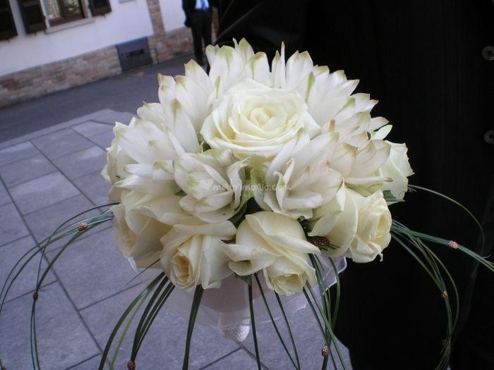 Bouquet Ortensie E Rose : Bouquet da sposa per matrimonio estivo pagina