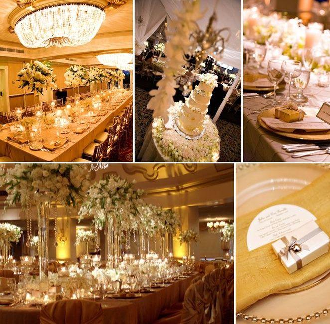 Matrimonio In Oro : Matrimonio in oro e bianco organizzazione