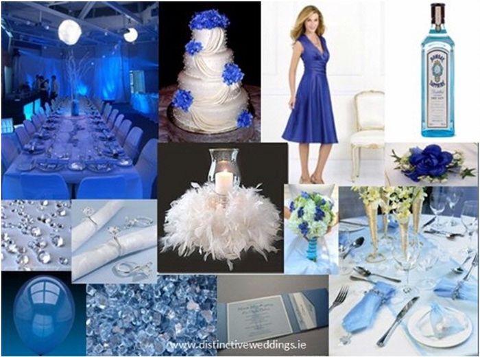 Matrimonio In Blu : Matrimonio in blu e bianco organizzazione