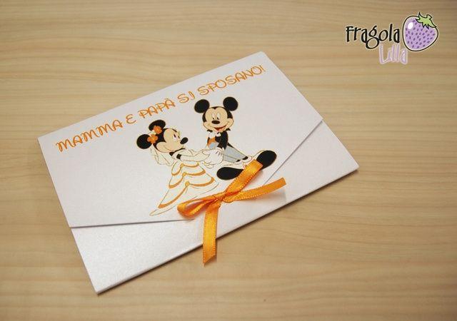 Partecipazioni Matrimonio Tema Disney : Tema della settimana n walt disney organizzazione