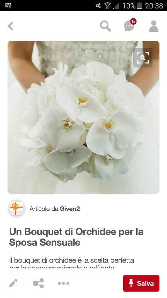 Che ne pensate di questo bouquet ? - 1