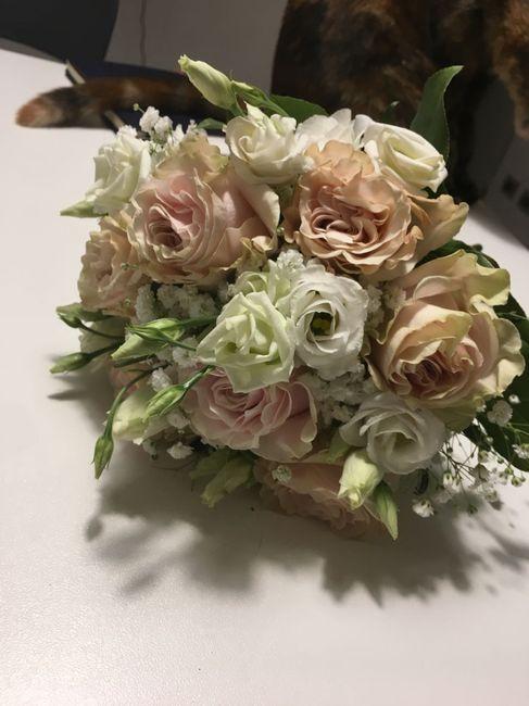 Esempio del mio bouquet!