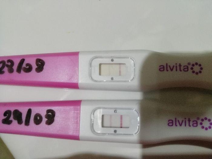 Test ovulazione come test di gravidanza. 3