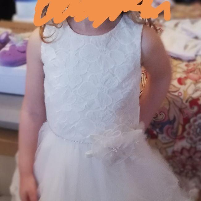 Consigli per il vestito per mia figlia damigella 1