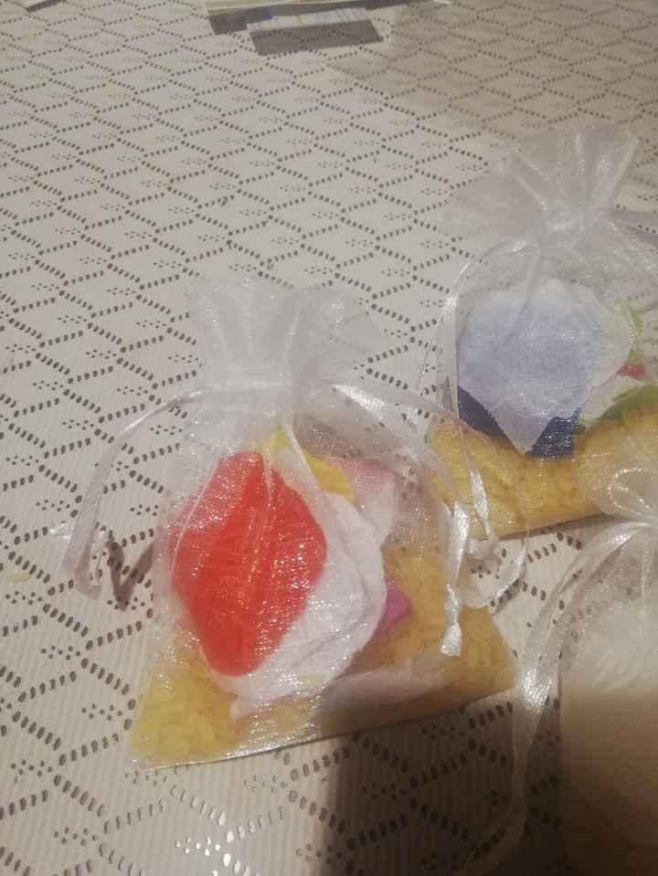 Sacchetti riso e petali - 2