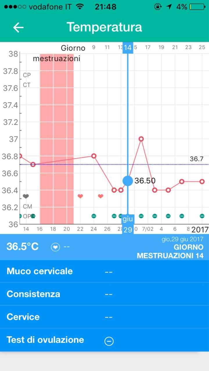 Temperatura basale - 2