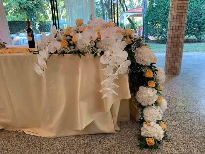 Tavolo sposi 2