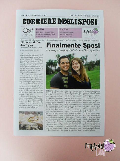 Gazzetta degli sposi moda nozze forum for Degli sposi