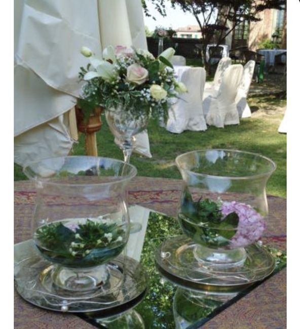 Centrotavola tavoli invitati - 1