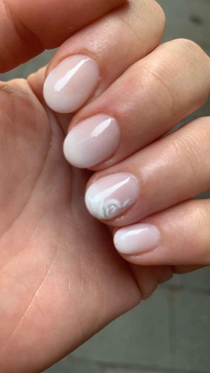 Prova unghie fatta 💅🏻 - 1