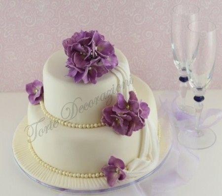 Torta con fiori freschi ricevimento di nozze forum for Decorazioni torte per 60 anni di matrimonio