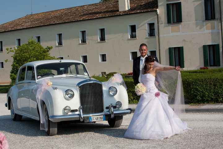 auto bentley matrimonio mio