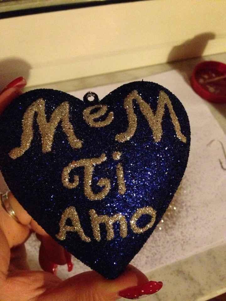 Un idea per i segna posti spose del mese di dicembre  - 1