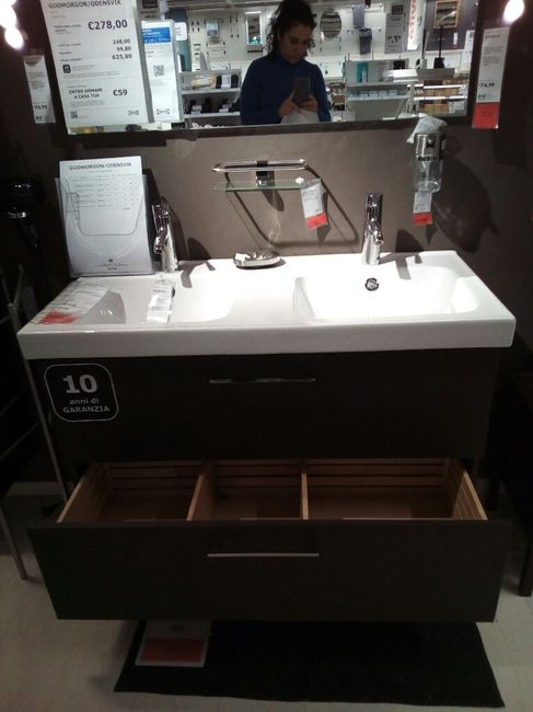 Lavandino bagno - 1