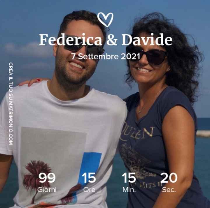 -99 giorni!! 👰🏻♀️ 🤵🏻♂️ - 1