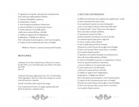Libretto rito civile: copertina e testo 10