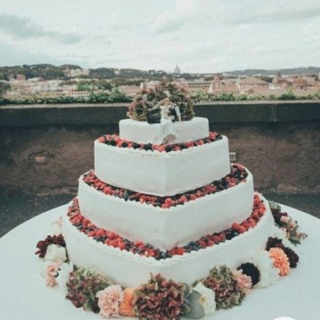 Torta nuziale 22
