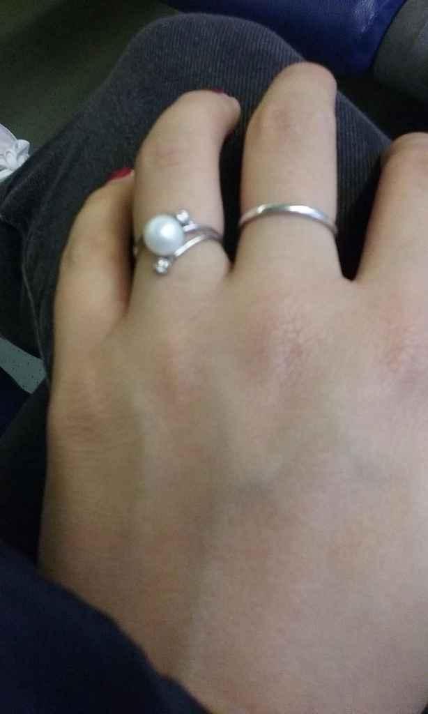 Il mio anello..