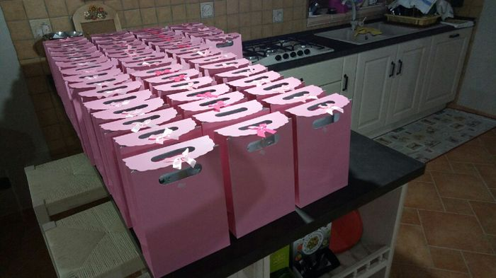 a -22 giorni wedding bag pronte!!!😁✌ - 1