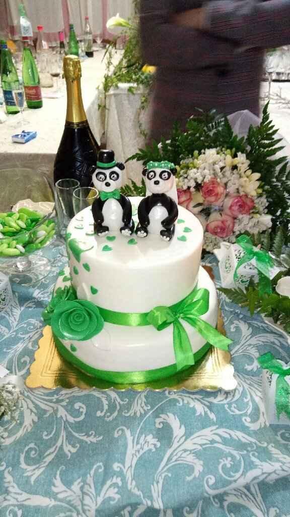 Torta e bouquet Promessa di matrimonio - 1