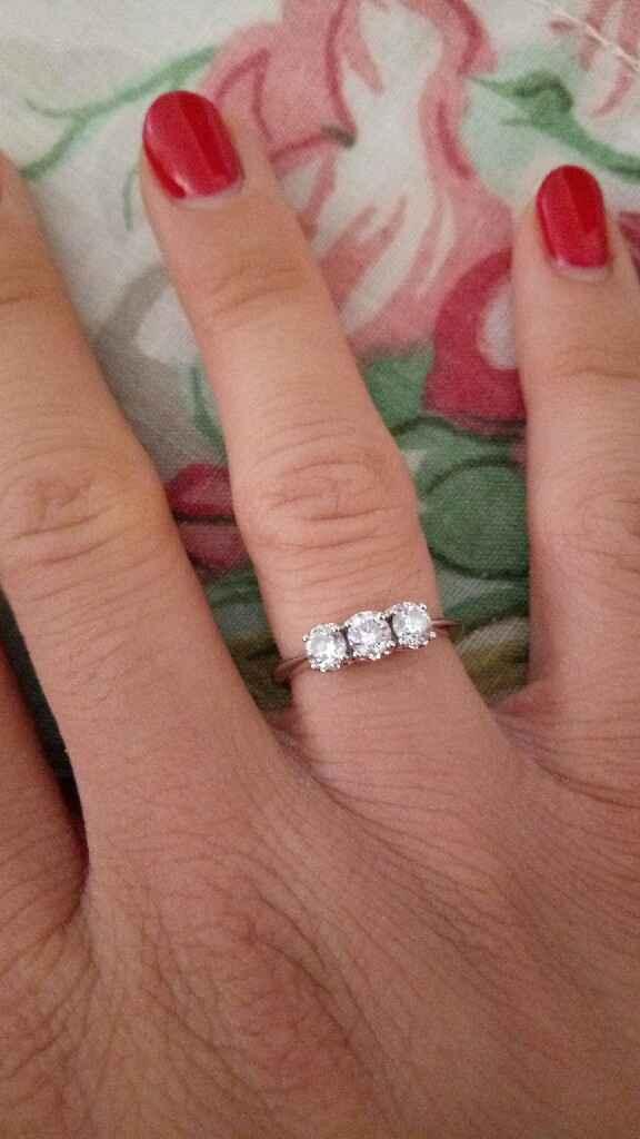 Come vi ha chiesto di sposarlo? e che anello avete ricevuto? - 1