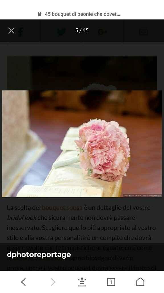 Scelta bouquet mi aiutate? - 1