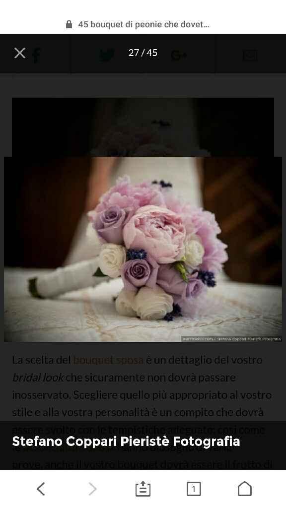 Scelta bouquet mi aiutate? - 2