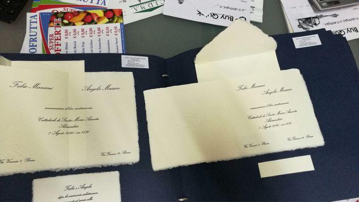 Scelta partecipazioni carta d'amalfi - 1