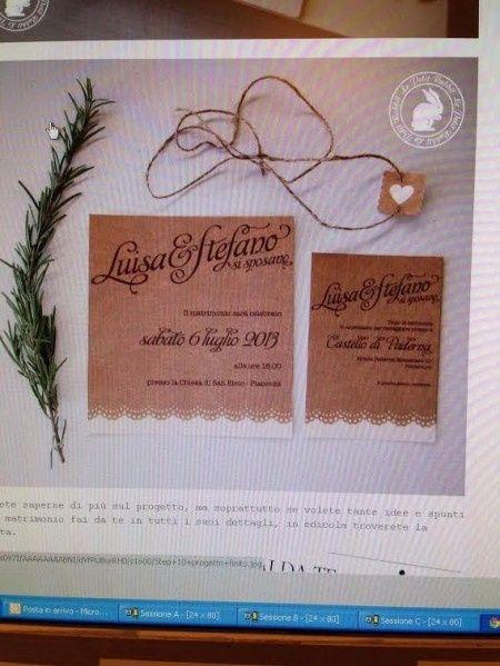 Inviti Matrimonio Country Chic : Partecipazioni shabby chic fai da te forum matrimonio.com
