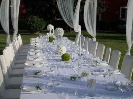 tavolo imperiale all aperto
