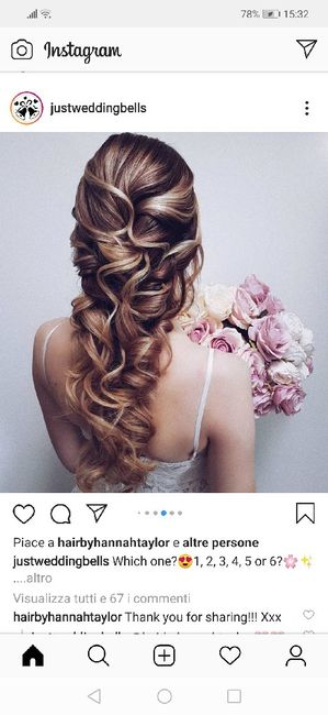 Sposa con capelli sciolti: sì o no? 3