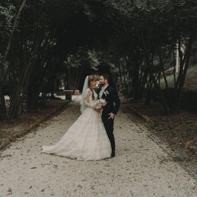 Foto del nostro matrimonio ricevute per Natale ☺️❤️ 5