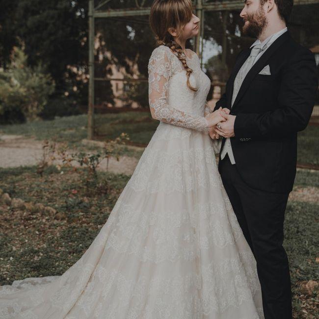 Foto del nostro matrimonio ricevute per Natale ☺️❤️ 16
