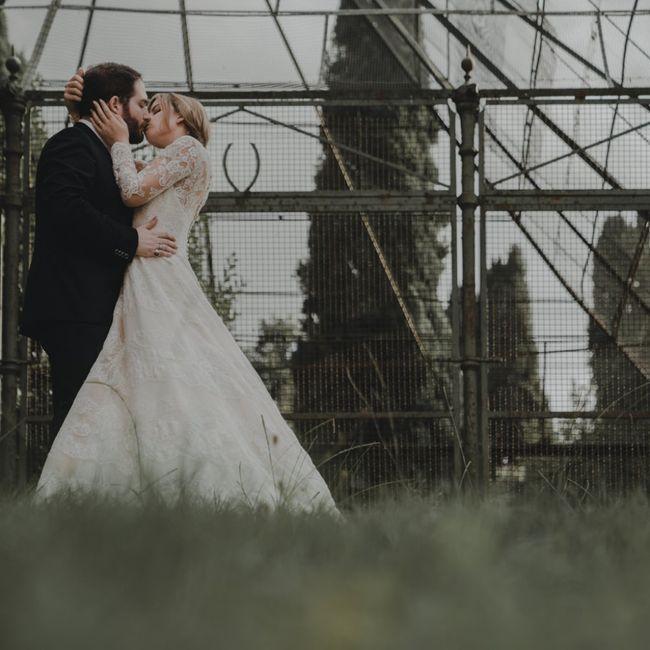 Foto del nostro matrimonio ricevute per Natale ☺️❤️ 19