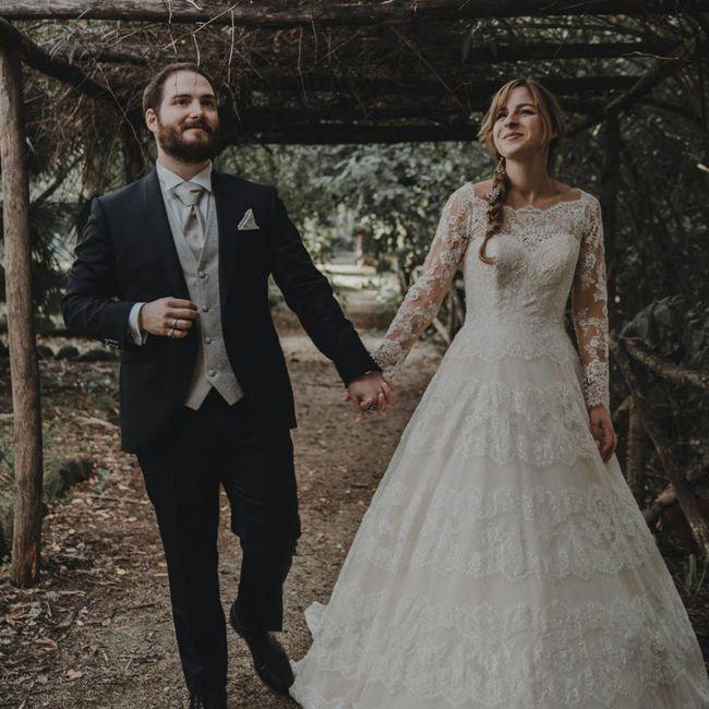 Foto del nostro matrimonio ricevute per Natale ☺️❤️ - 23