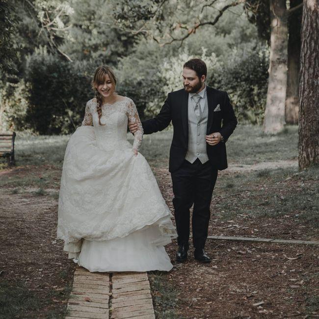 Foto del nostro matrimonio ricevute per Natale ☺️❤️ 24