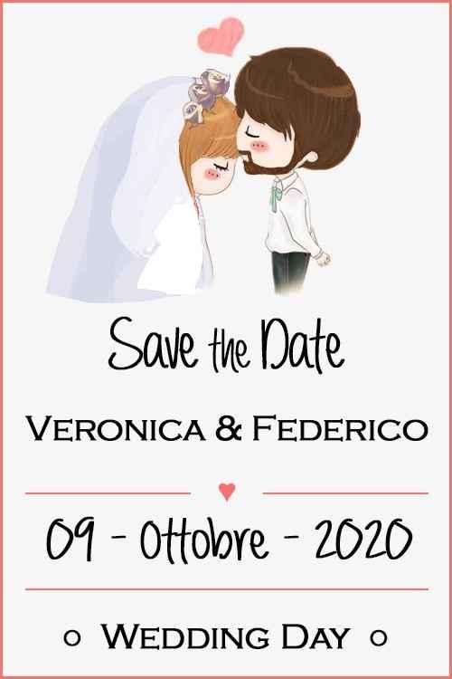 Save the date inviati ieri sera!!!! 😍 Che emozione!!! - 1