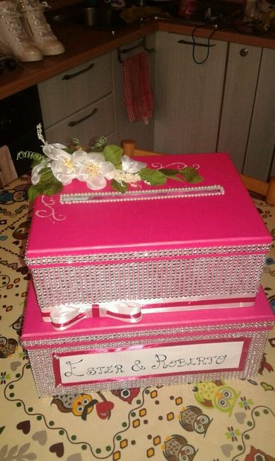 Per chi vuole fare la scatola portabuste..ecco alcune idee - 2